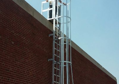 Custom Roof Access Ladder